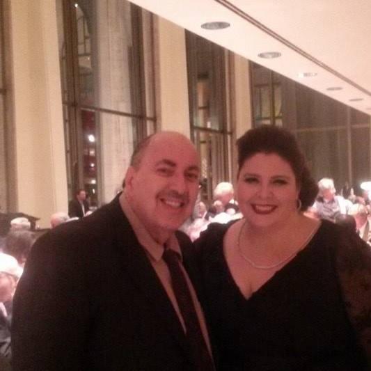 Ed with Angela Meade