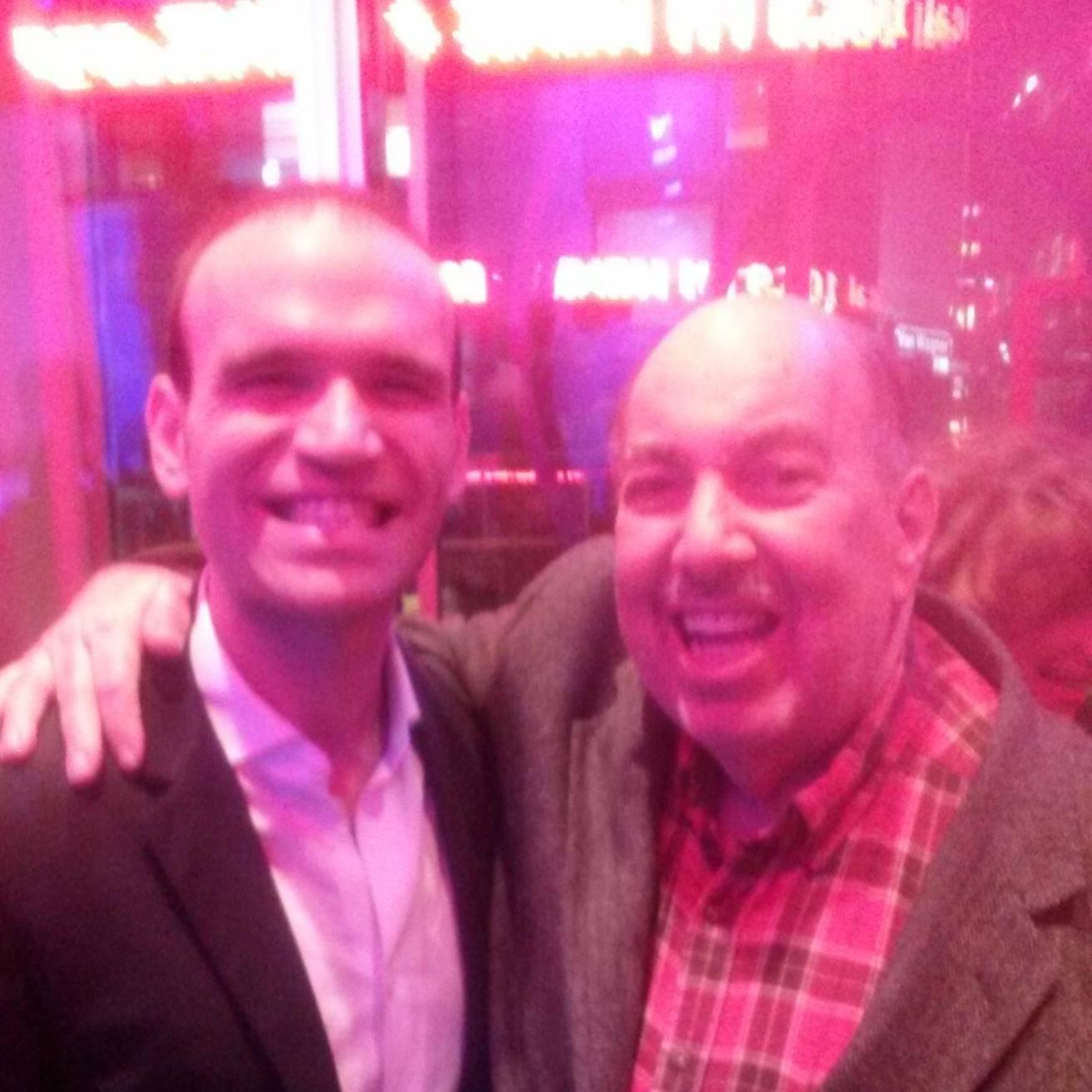 Ed with Michael Fabiano