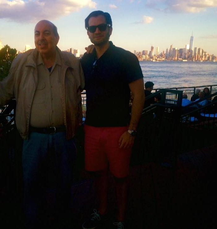 Ed with Eric Margiore