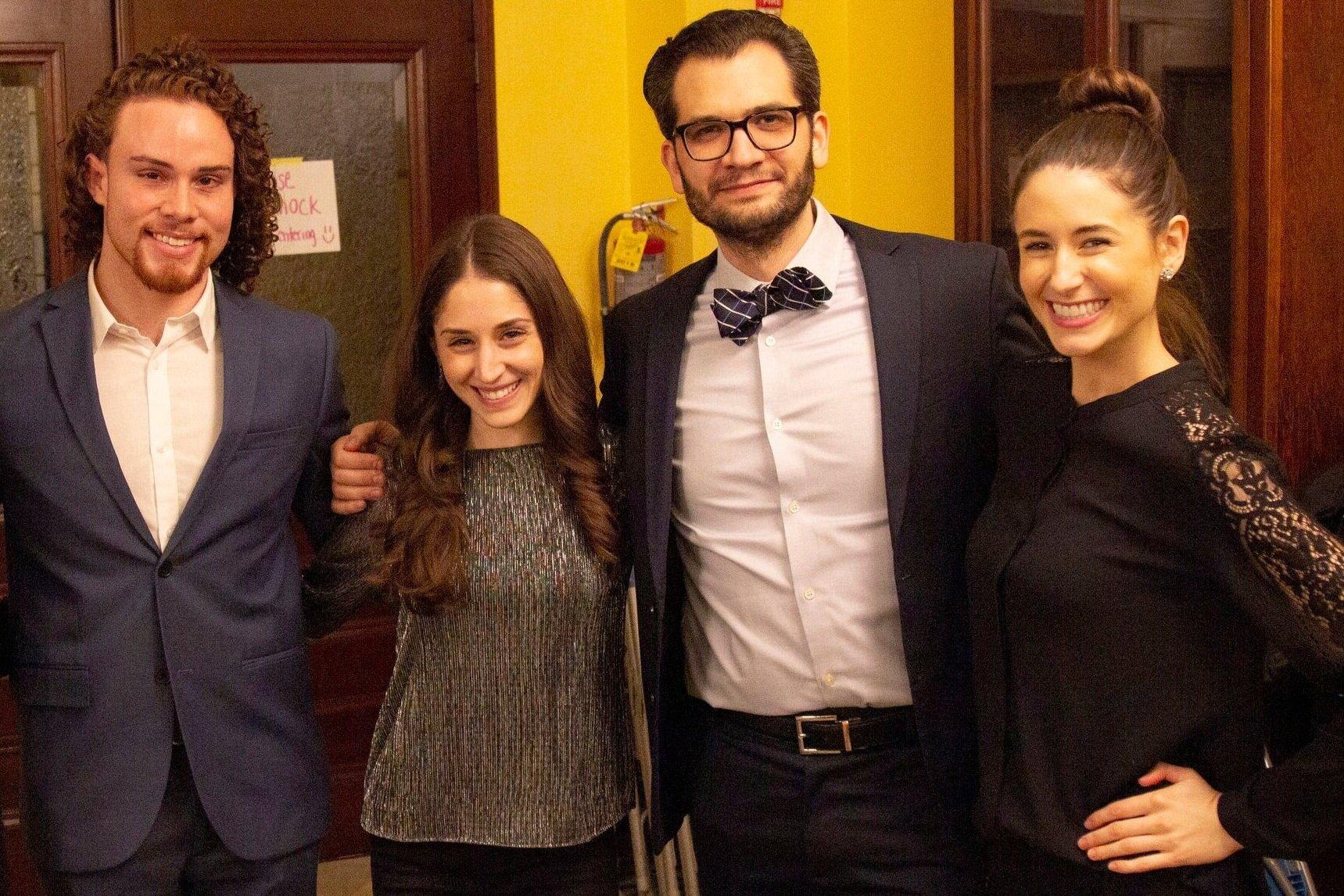 Broadway Actor - Angel Jonathan Lozada, Board Director - Daniella DeSanto, Founder - Eric Margiore, Celebrity Chef - Chloe Coscarelli