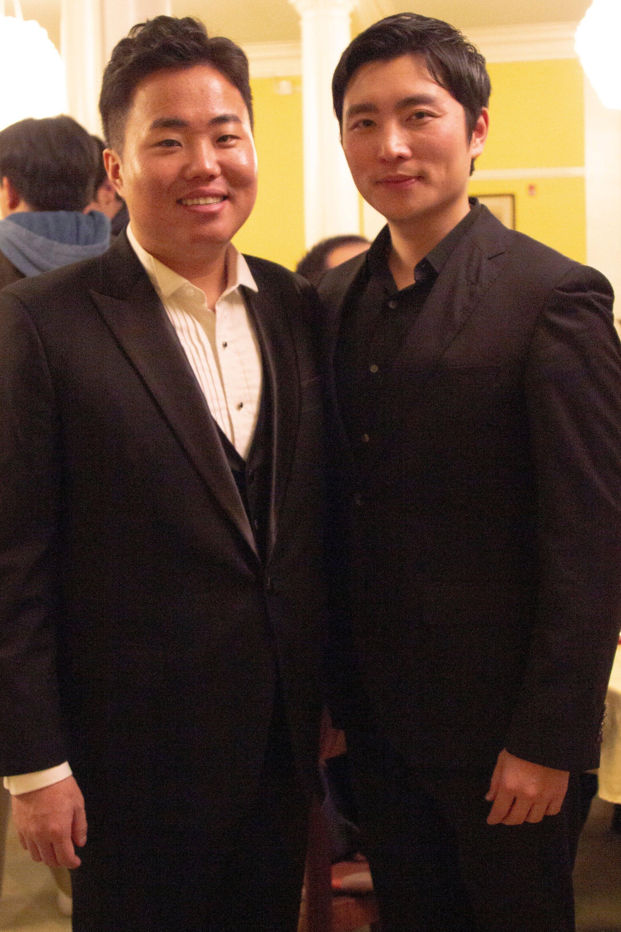 Dashaui Chen - Second Prize Winner, Xiaomeng Zhang - Audience Favorite Award
