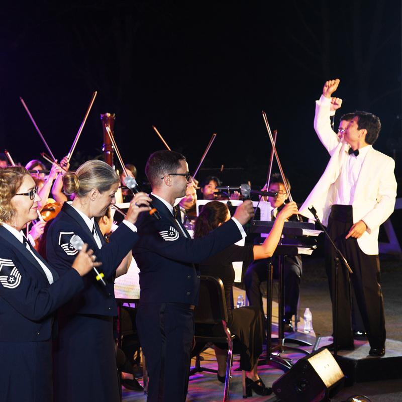 Cape Cod Symphony Orchestra - Co-sponsorship for the popular, Cape Cod Symphony Orchestra summer concert at Salt Pond Visitor Center