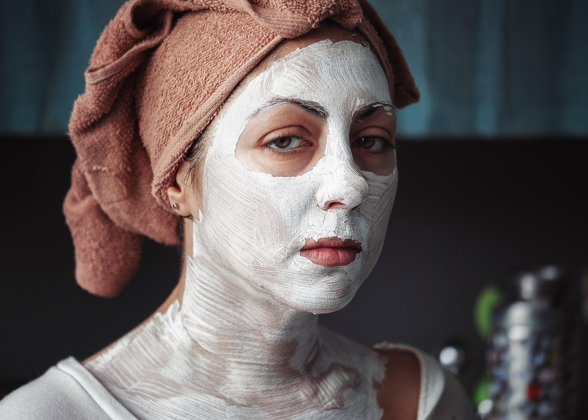 DIY facial masks
