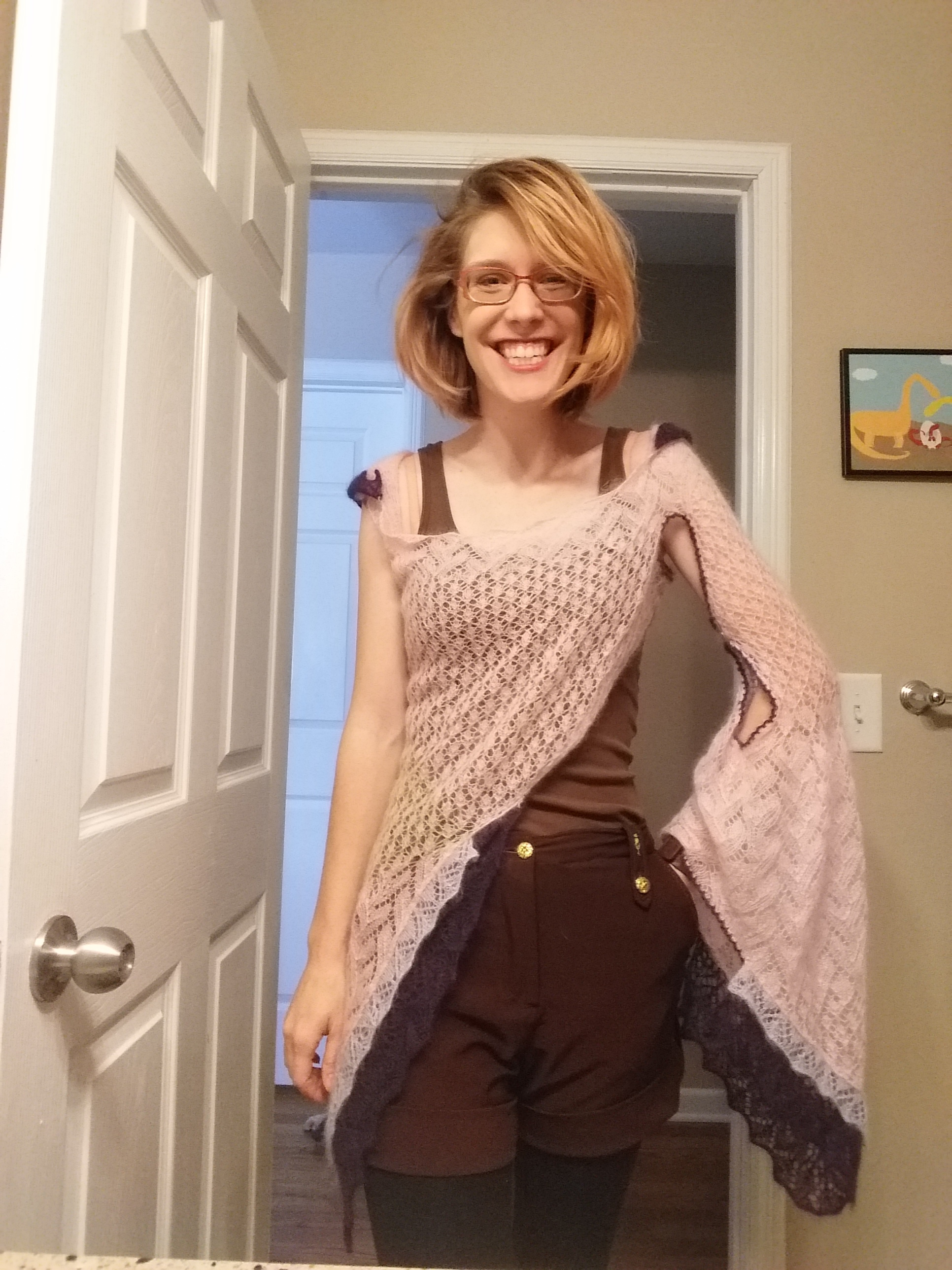 How many excuses do you get to wear your hand knit faerie sweater? Not a ton. Here's what I wore to Vogue Knitting LIVE.
