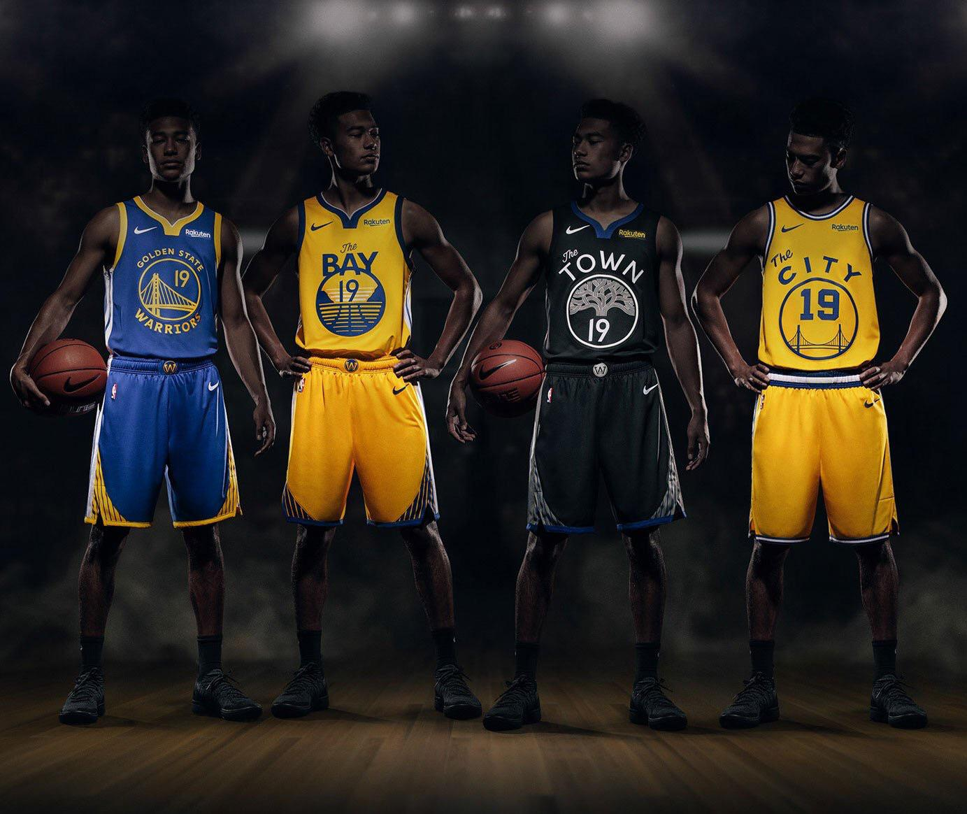 Breaking Down The Warriors 2019 2020 Courts And Uniforms