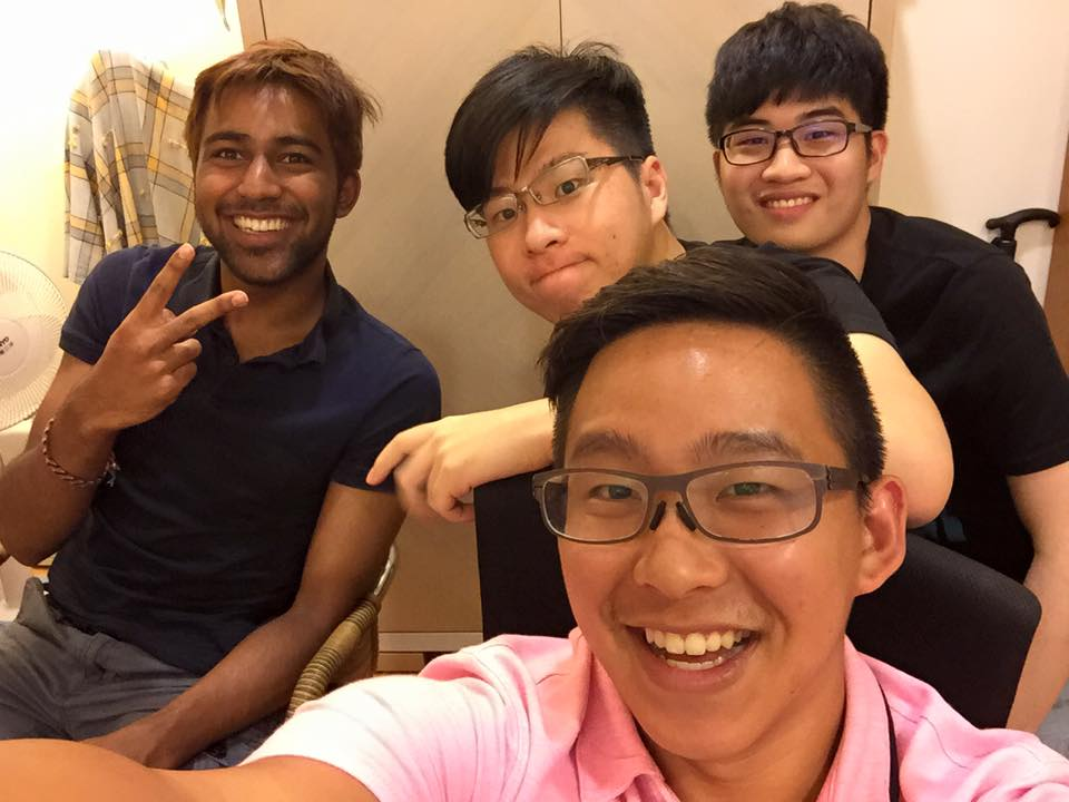 Matt Fan Chiang (Middle) is the musician that makes everything come to life. We are nothing without him. Jeffrey (Right) came and supported us during our all nighter for Never Ending Night.