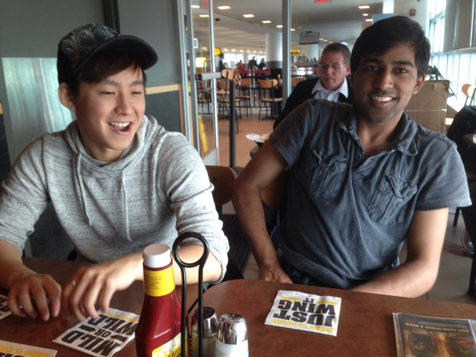 John and Dhruv co-founded Dot Dream during high school. Everything started during that fateful swim meet!