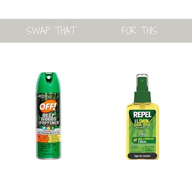 """🕷️ Conventional bug spray is scary! The active ingredient in most bug spray is diethyltoluamide (DEET), which is so toxic that even the Environmental Protection Agency (EPA) says you should wash it off your skin when you return indoors, avoid breathing it in and not spray it directly on your face. Think about it-if it kill bugs, it can likely do some harm to other life forms too. According to research published in The New England Journal of Medicine, most cases of serious side effects caused by DEET involve long-term, heavy, frequent or whole-body application of the repellent. DEET has many side effects like, """"gulf warm syndrome"""" (a condition that affects veterans of the Gulf War and causes chronic headaches, fatigue, respiratory disorders and skin conditions), allergic reactions, seizures and brain malfunction, has carcinogenic (cancer causing) properties, and has been associated with an increased risk for non-Hodgkin lymphoma. I don't like bugs, but I don't like the sounds of these potential side effects either. The swap is Repel! This stuff is free of cancer causing junk, smells amazing, and it works great too!"""
