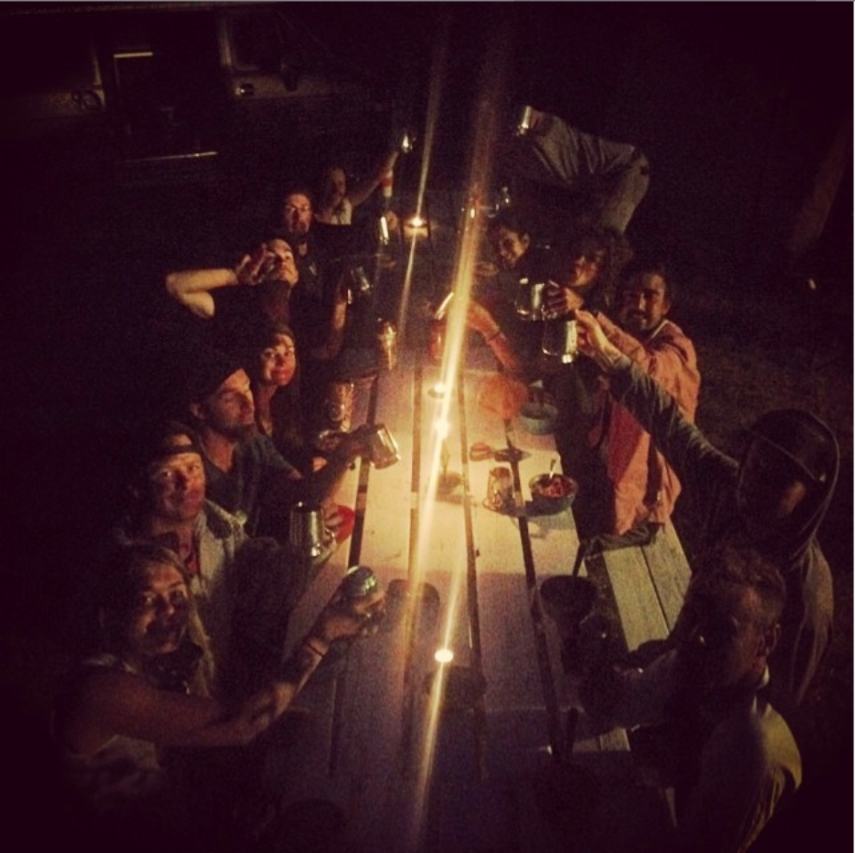 Radio Stage Team Dinner 2014