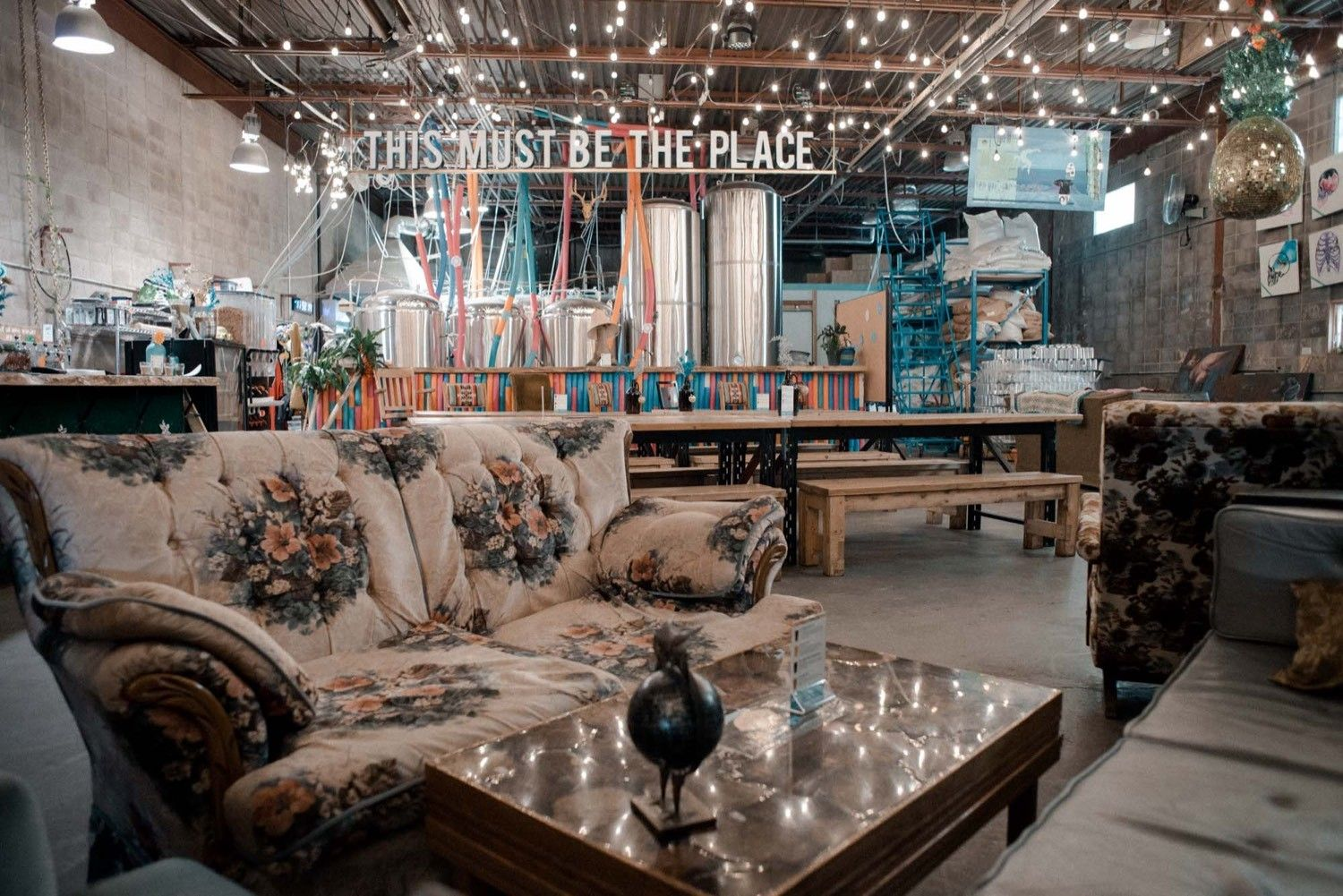 Quirky, vintage vibes at Cold Garden Photo by Alana Willerton