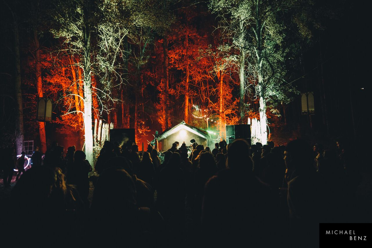 Image captured by Michael Benz of the inaugural Borealis music festival