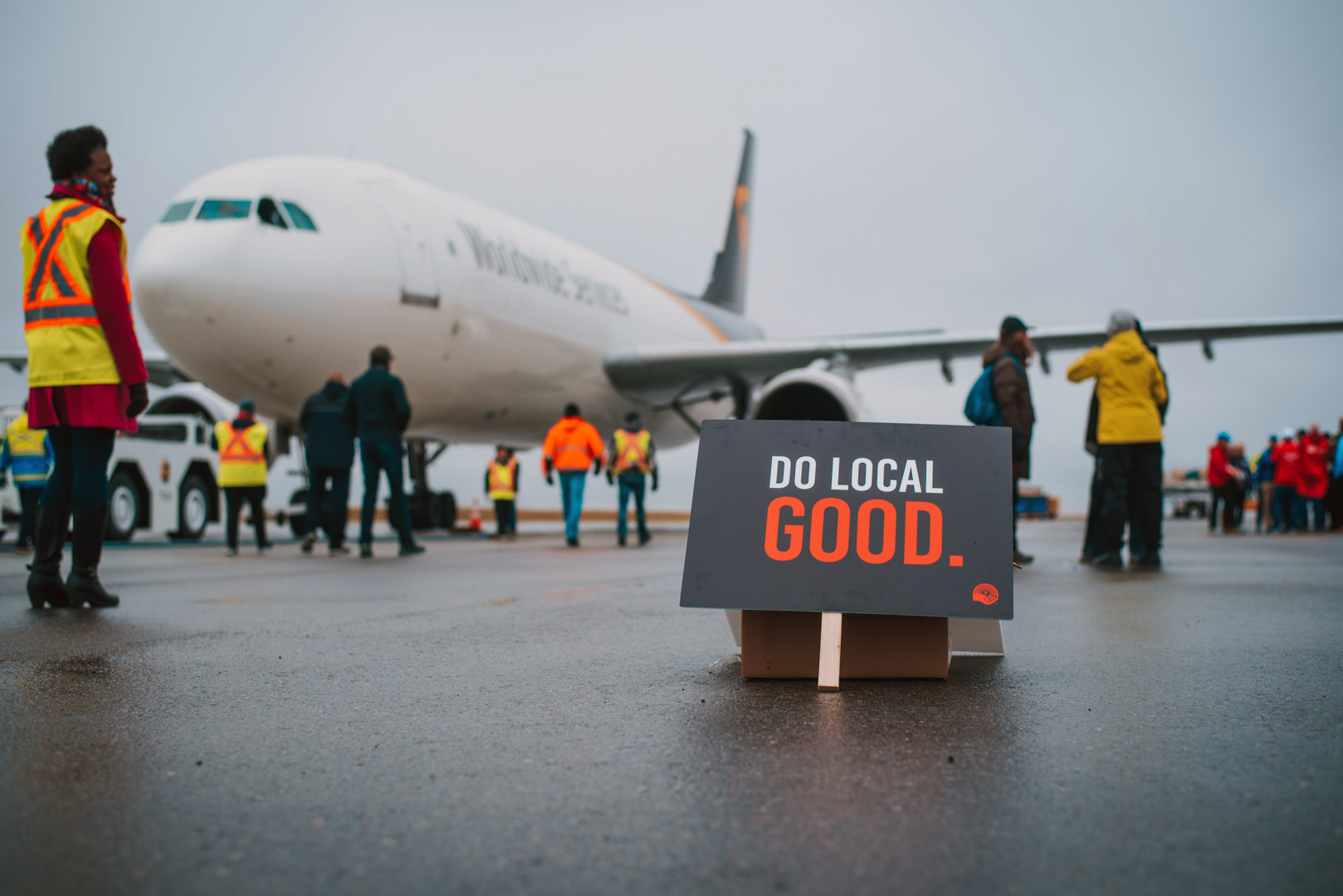 Plane Pull 2018, courtesy of United Way Calgary and Area