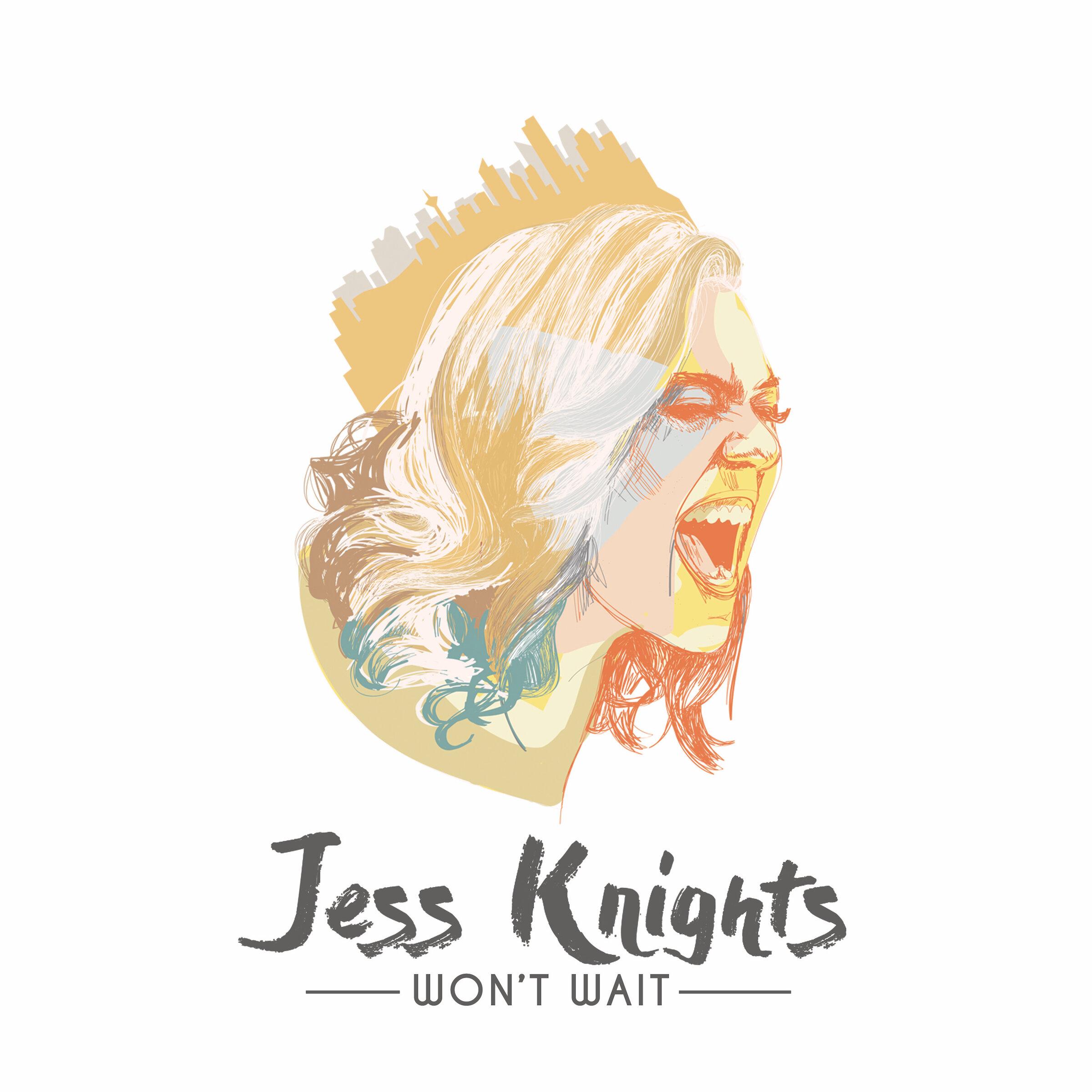 Cover art for Jess' 2018 EP   Won't Wait