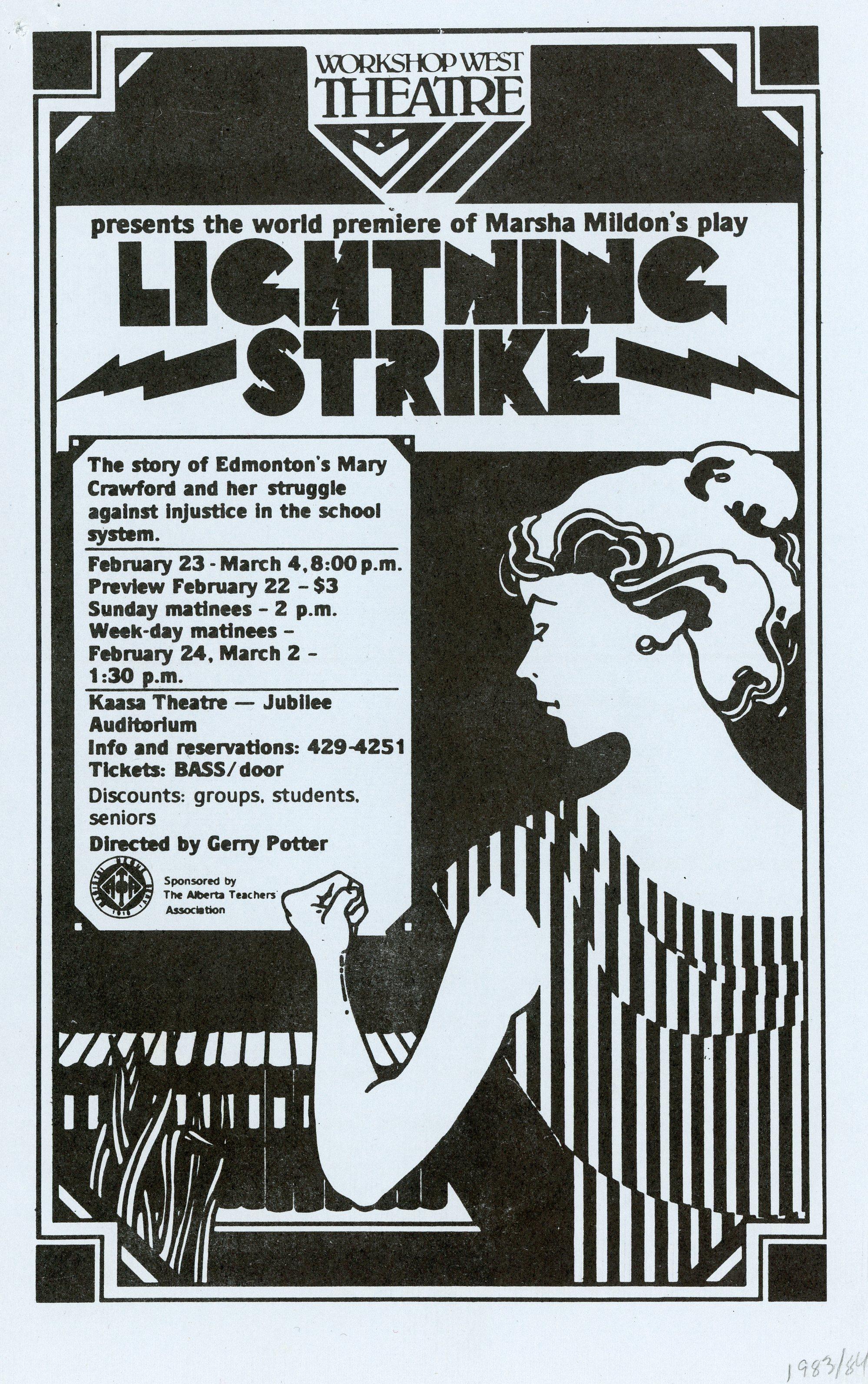 Lightning Strike (February, 1984) - Program Cover.jpg