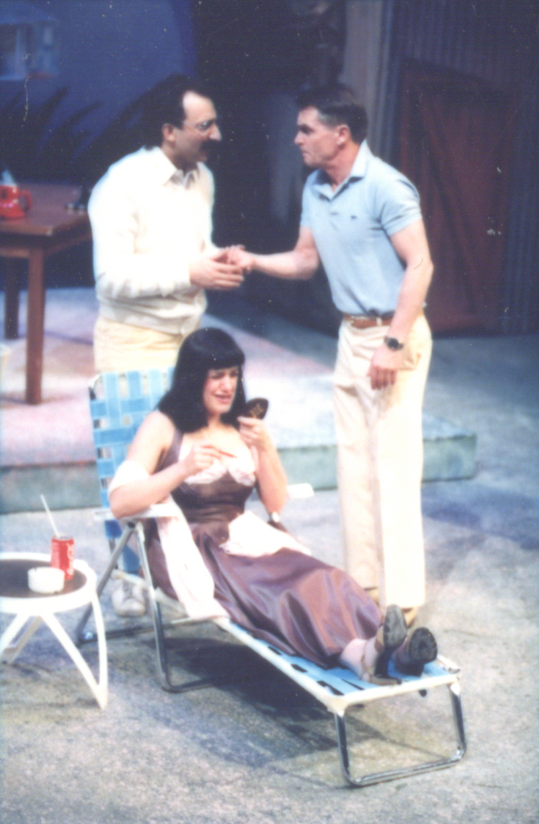Backyard Beguine (March 1987) Production Image 1.jpg