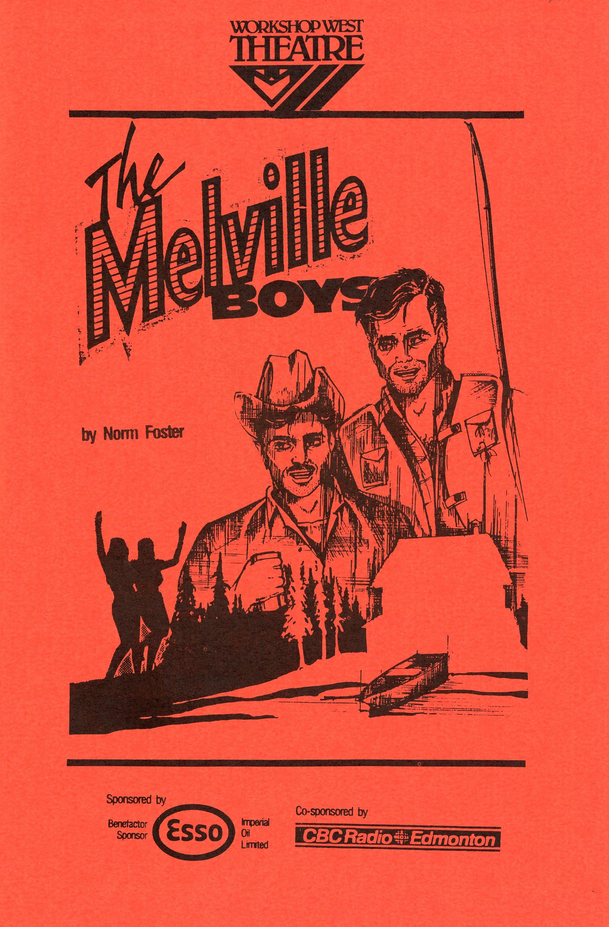 The Meville Boys (September, 1986) - Program Cover.jpg