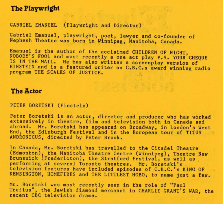 Einstein (On Tour) (October, 1986) - Production Information-page-002.jpg