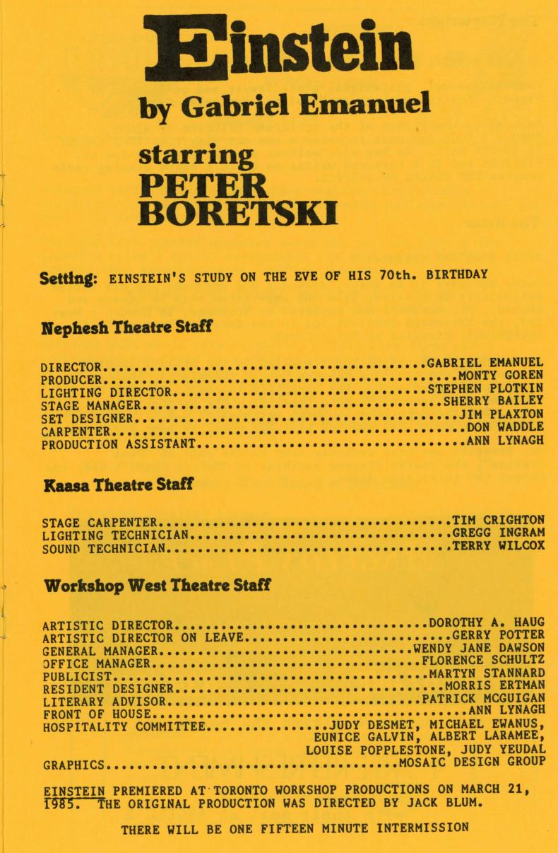 Einstein (On Tour) (October, 1986) - Production Information-page-001.jpg