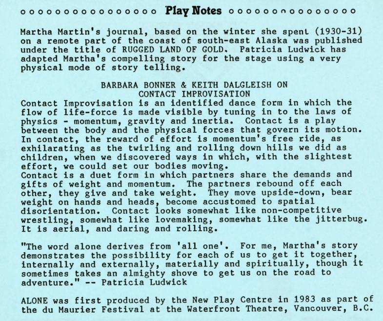 Alone (January, 1987) - Production Information-page-001.jpg
