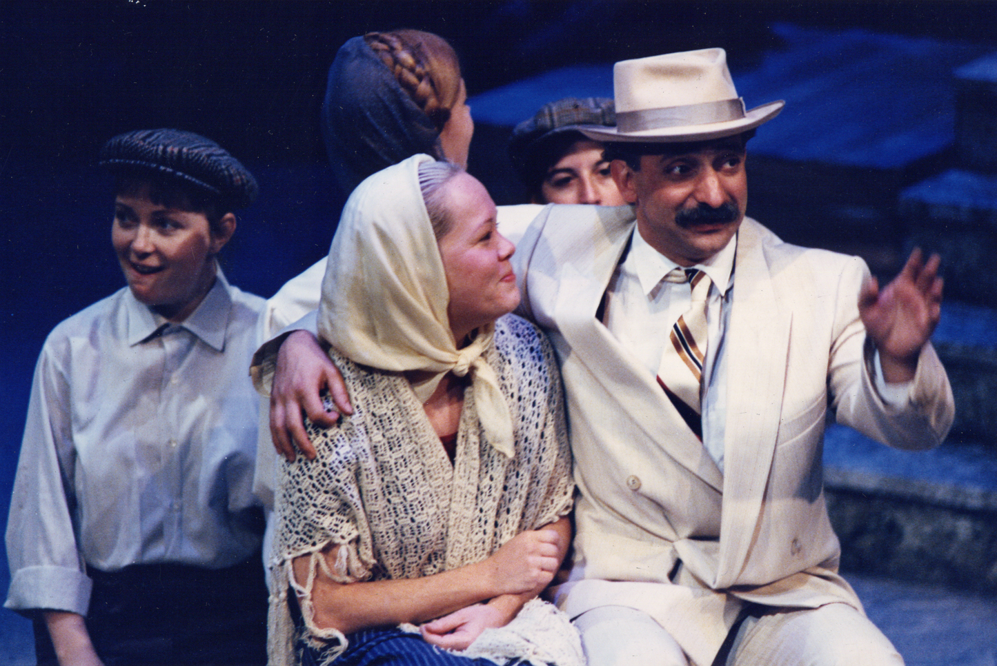 The Rich Man (November 1990) Production Image 1.jpg