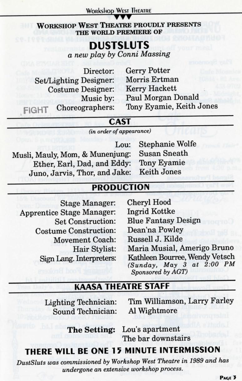 Dustsluts (April, 1992)-Production Information-page-001.jpg