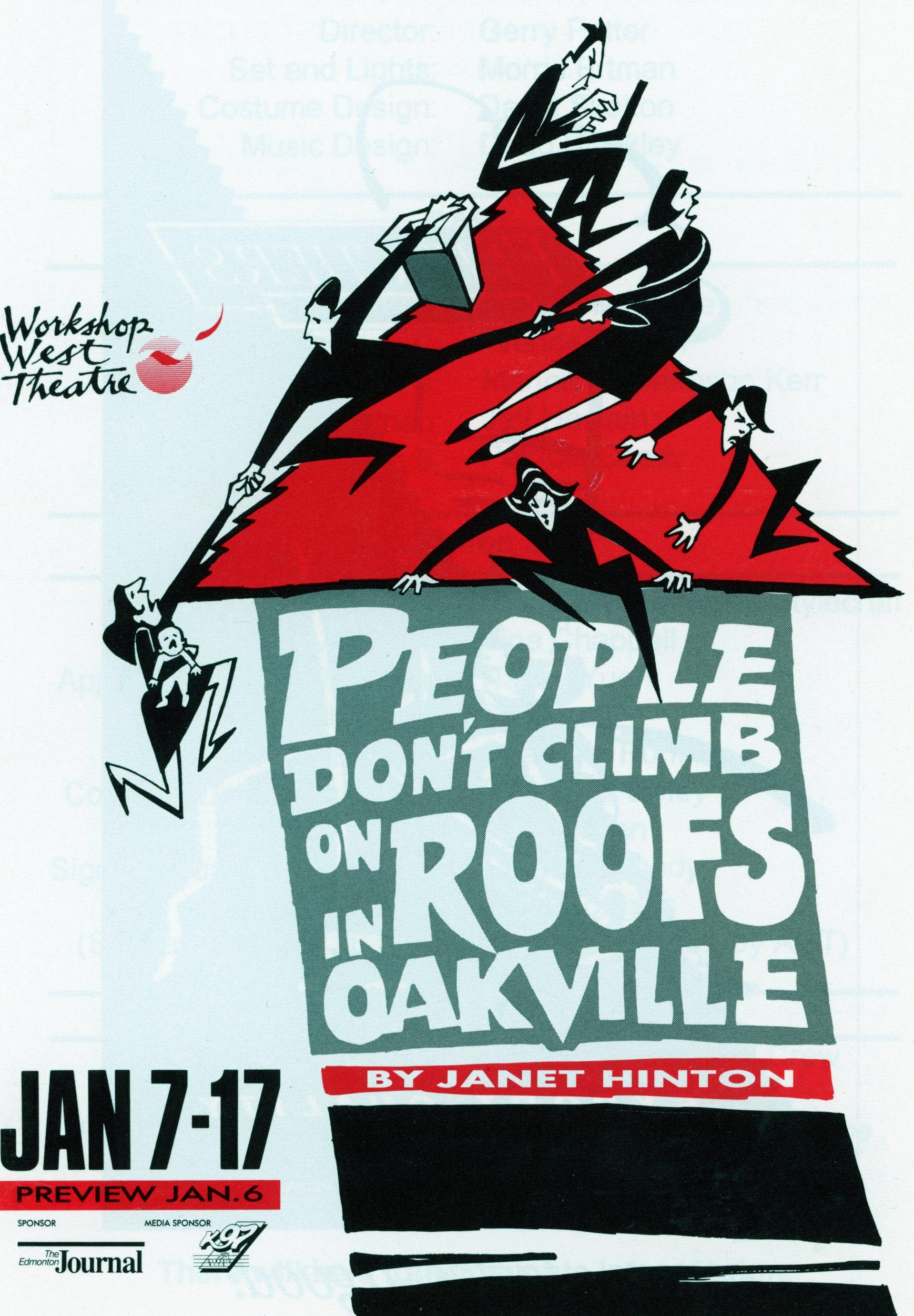 People Don_t Climb on Roofs Oakville (January, 1992)-Program Cover JPEG.jpg