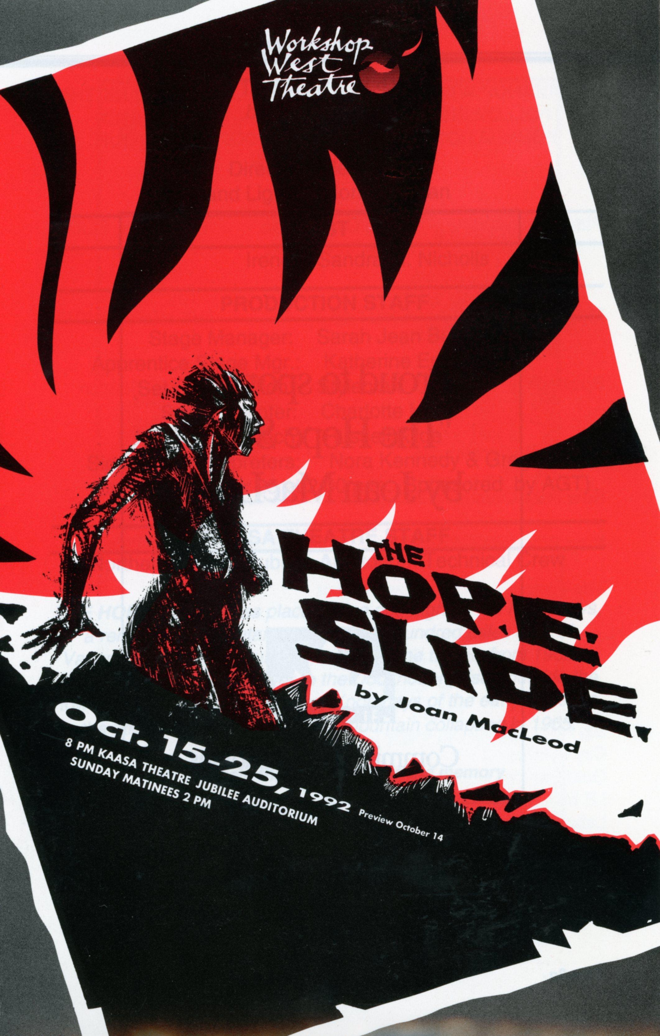 The Hope Slide (October, 1992)- Program Cover JPEG.jpg