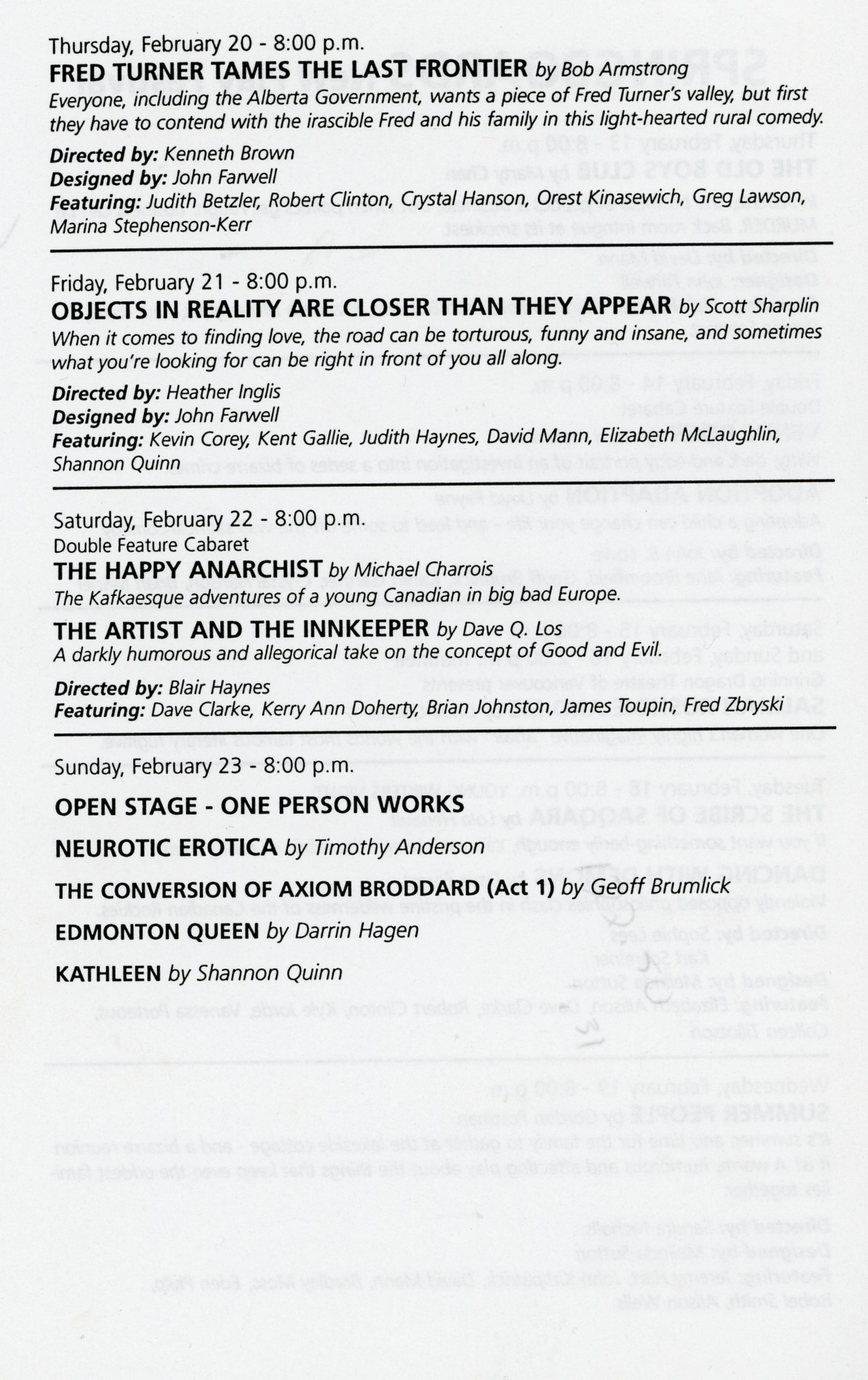 Springboards New Play Festival (February, 1997)-Production Information Part 2_JPEG.jpg