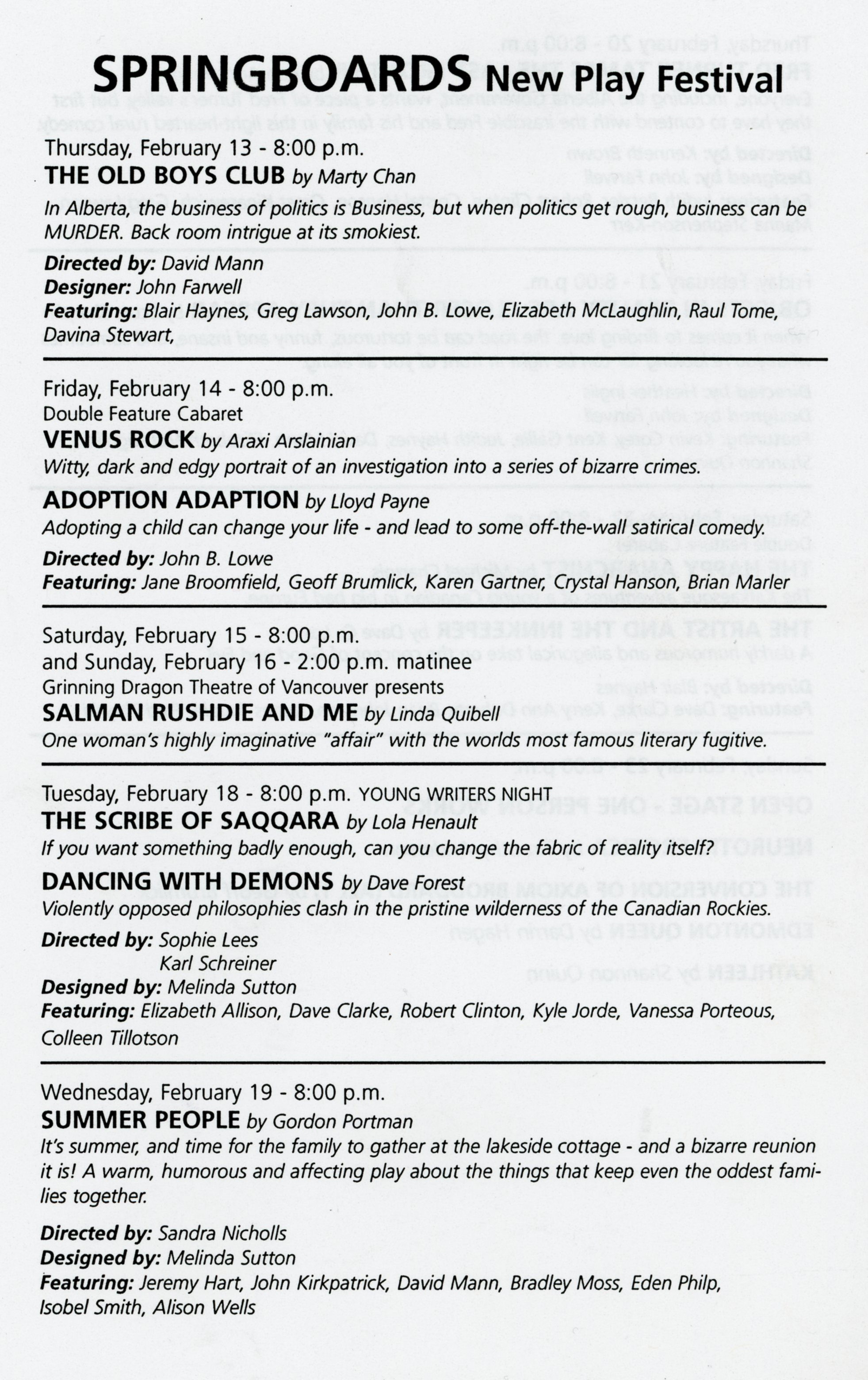 Springboards New Play Festival (February, 1997)-Production Information Part 1_JPEG.jpg