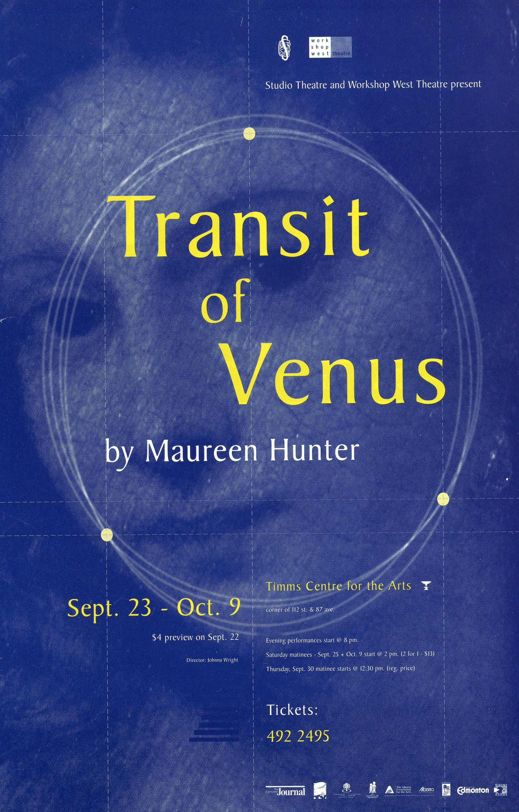 Transit of Venus (September,1999)-Production Cover_JPEG.jpg