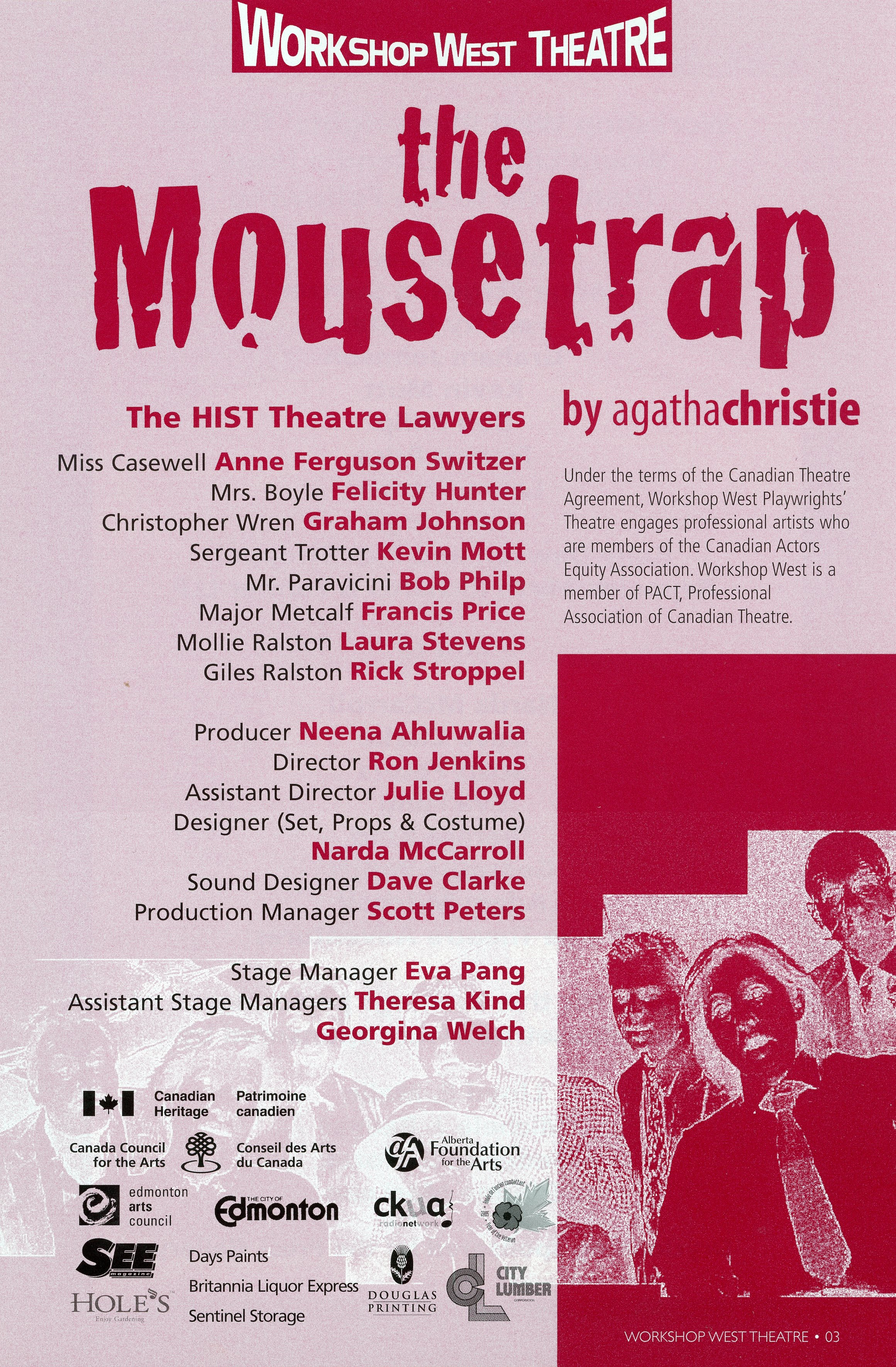 The Mousetrap (2005-2006)- Production Information_JPEG.jpg