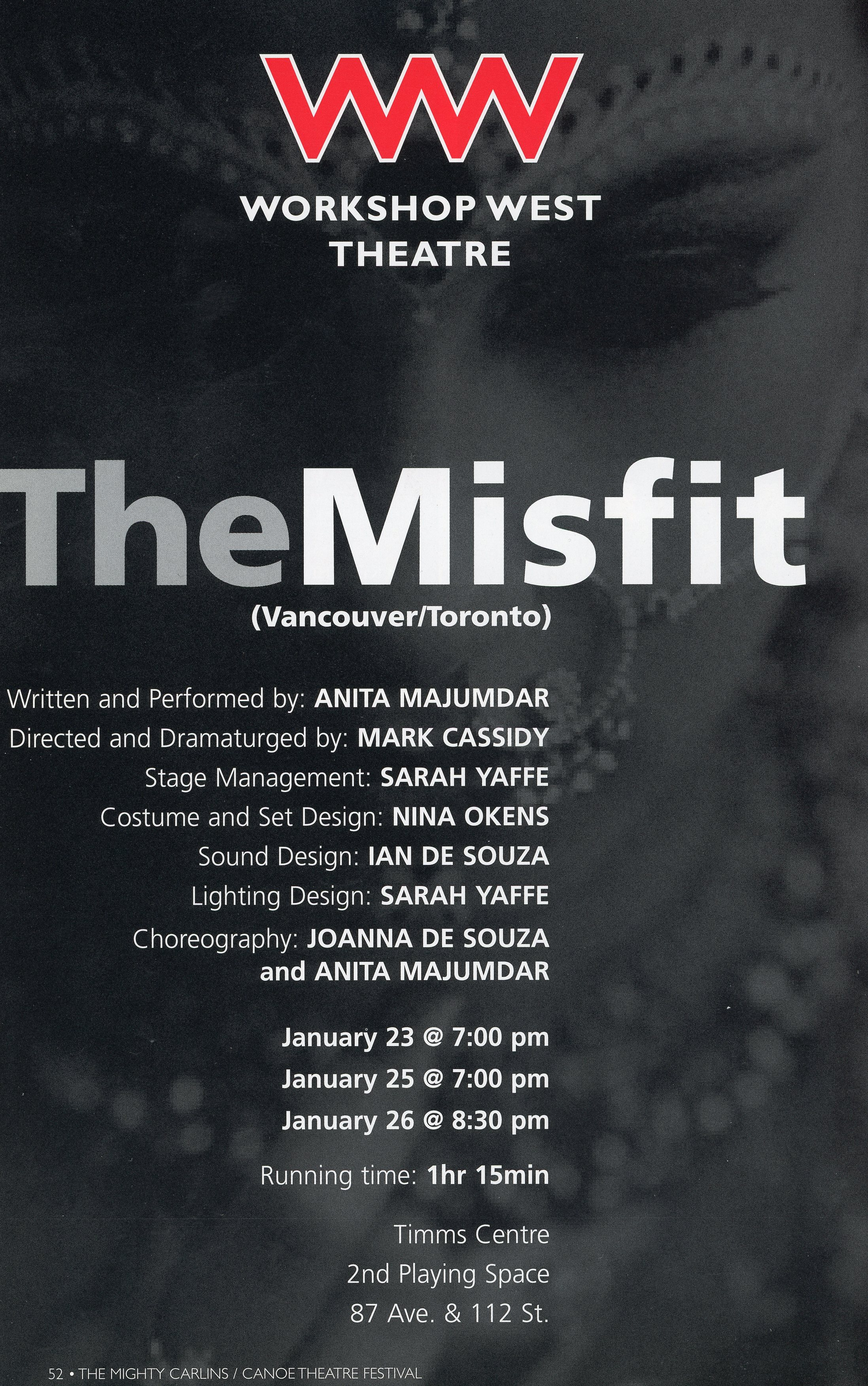 Workshop West Theatre (2008)-Production Information- The Misfit_JPEG.jpg