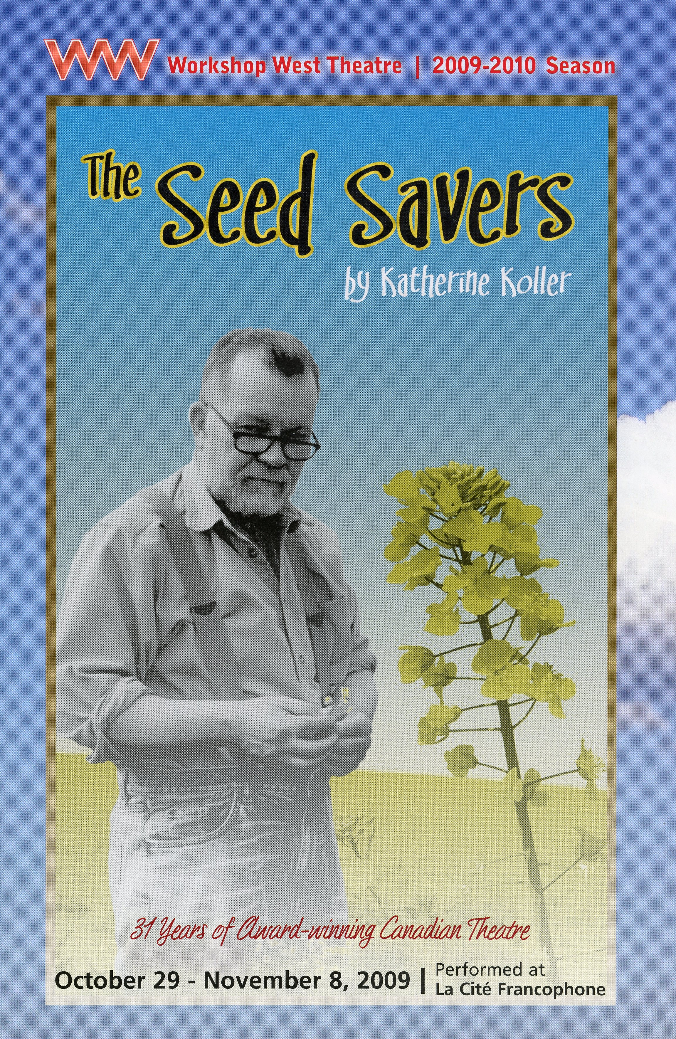 The Seed Saver (October, 2009)-Production Cover_JPEG.jpg