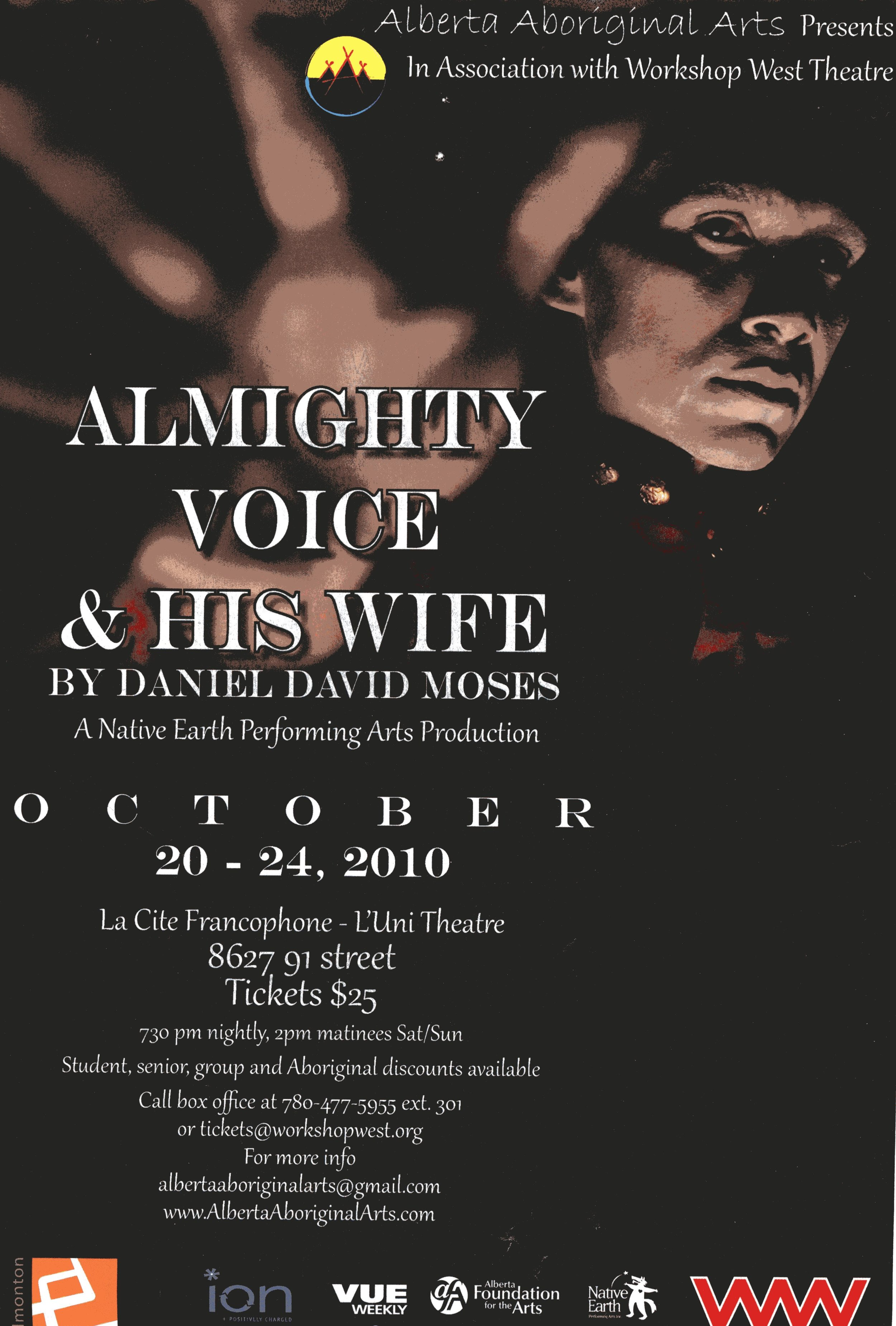 Almighty Voice (2010) Promotional Poster.jpg