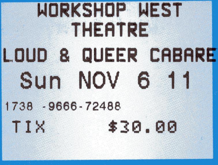 Loud _ Queer (2011) Ticket Stub.jpg