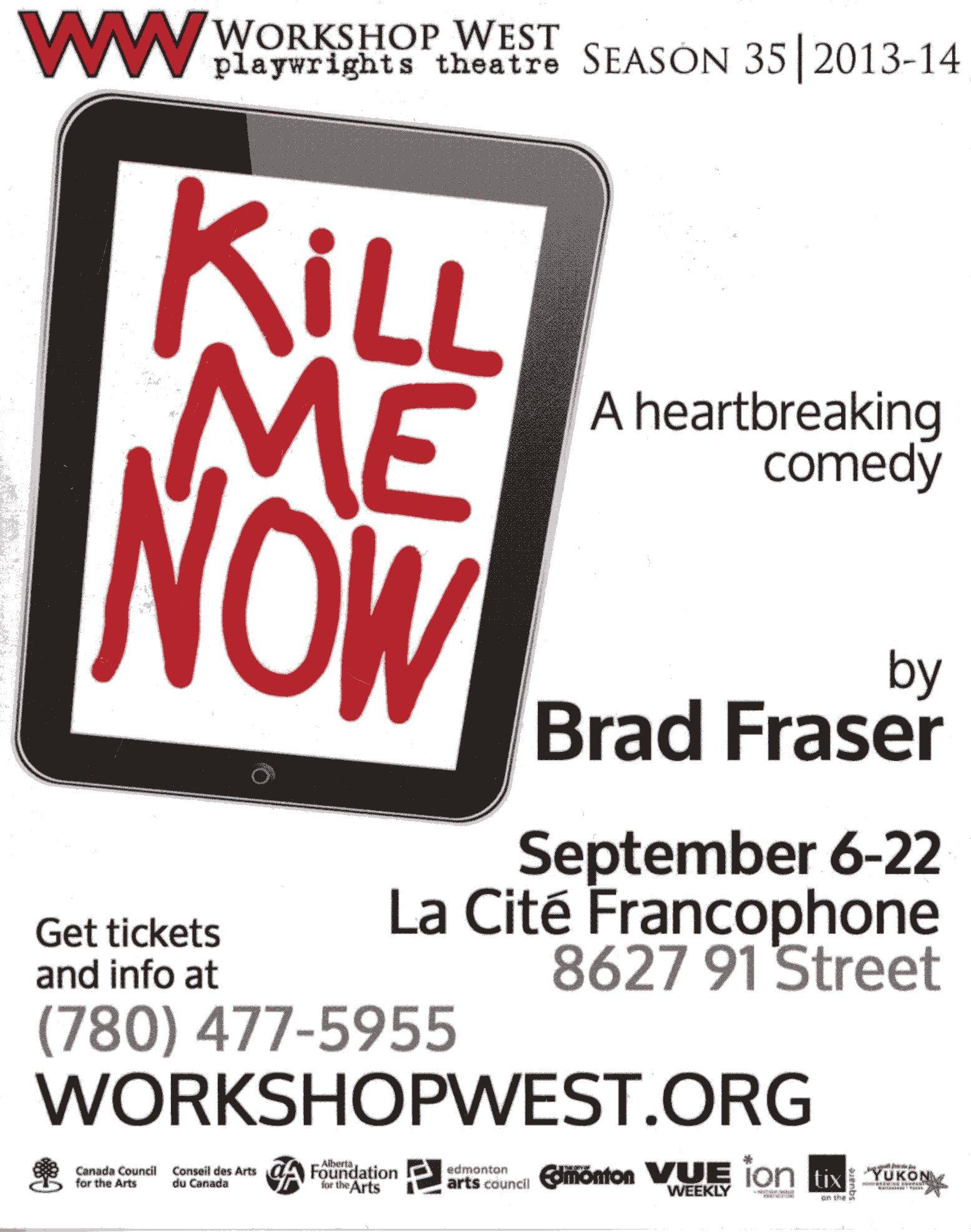 Kill Me Now (2013) Handbill.jpg