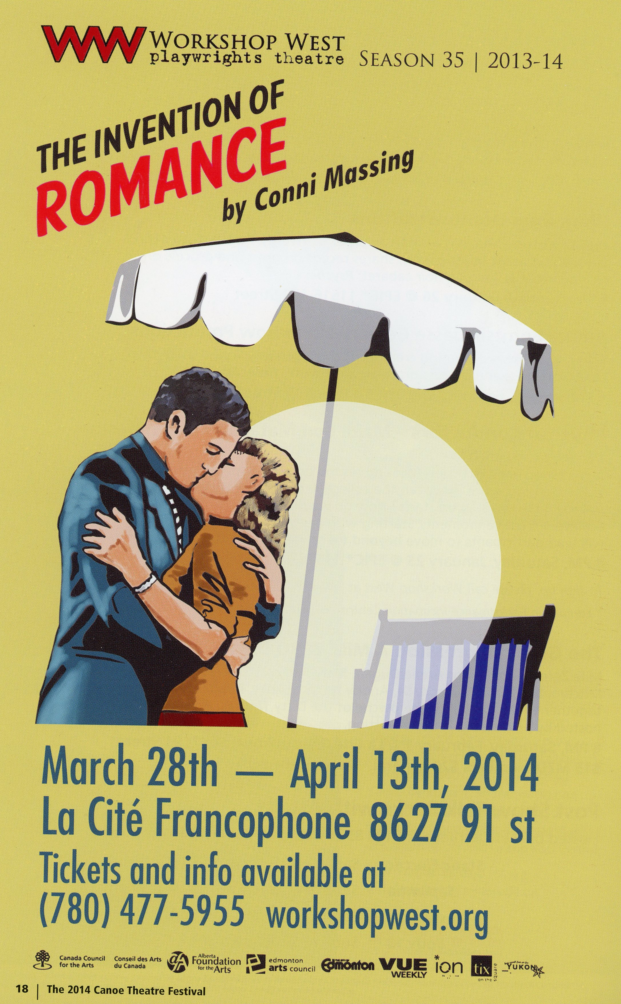 The Canoe Theatre Festival (January 2014)-Production Information-The Invention of Romance_JPEG.jpg