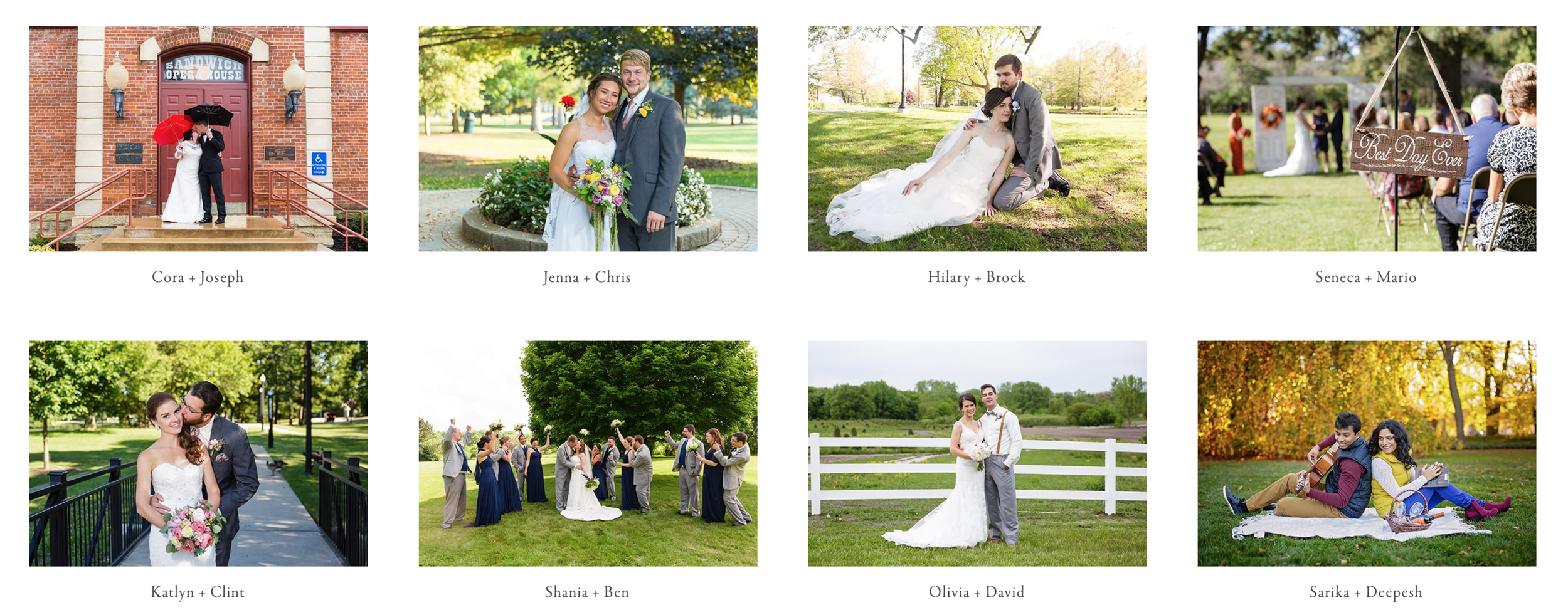 The Gallery - Beautiful online gallery provides the ultimate experience for viewing and sharing your wedding day photographs to family and friends. This is the IMAX experience powered by Pic-Time.