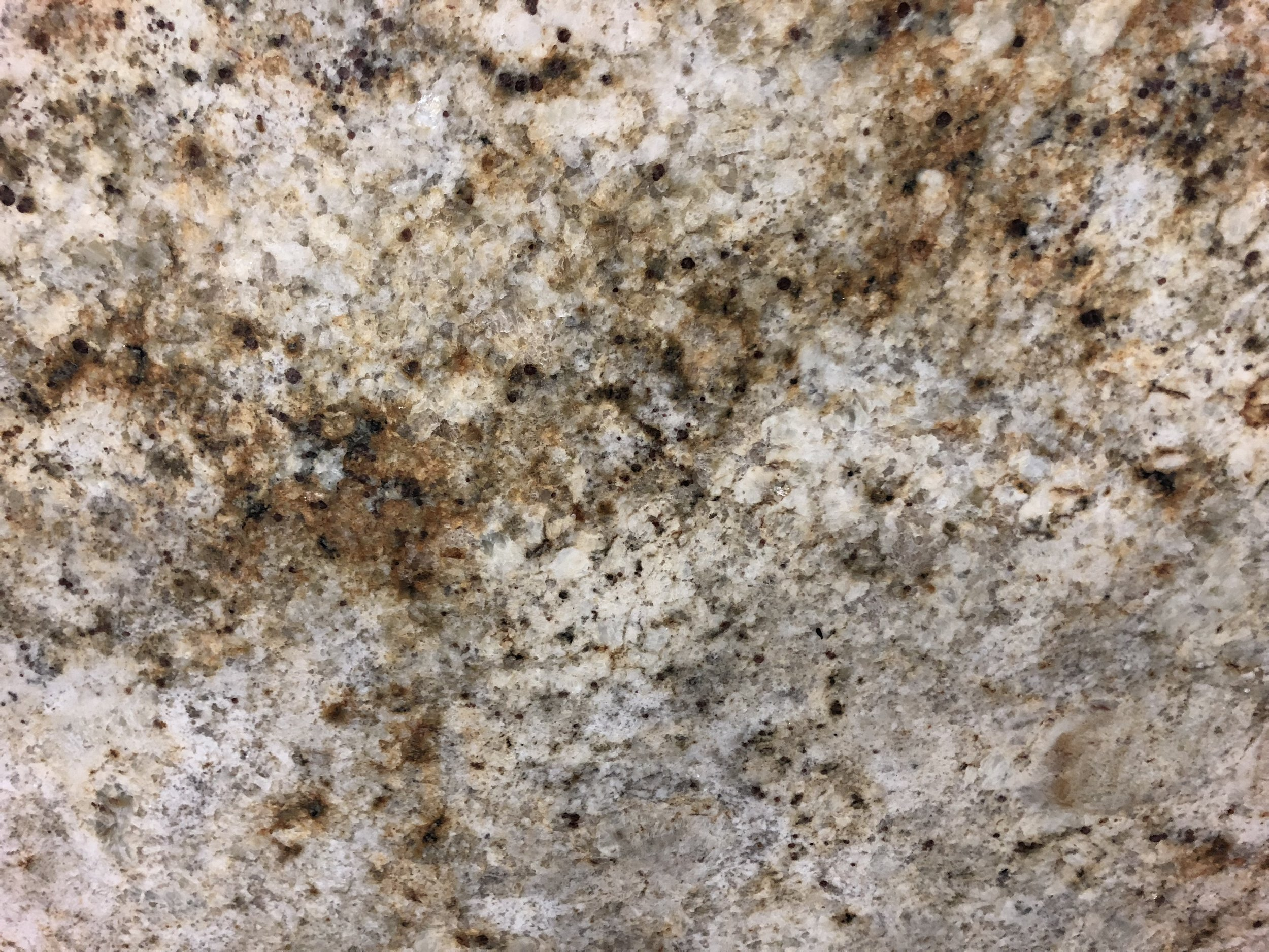 Colonial Gold - Quarried: IndiaMaterial Type: GraniteDescription: creamy grey background with brown and grey fleck veining.Other Name(s): Cafe Cream