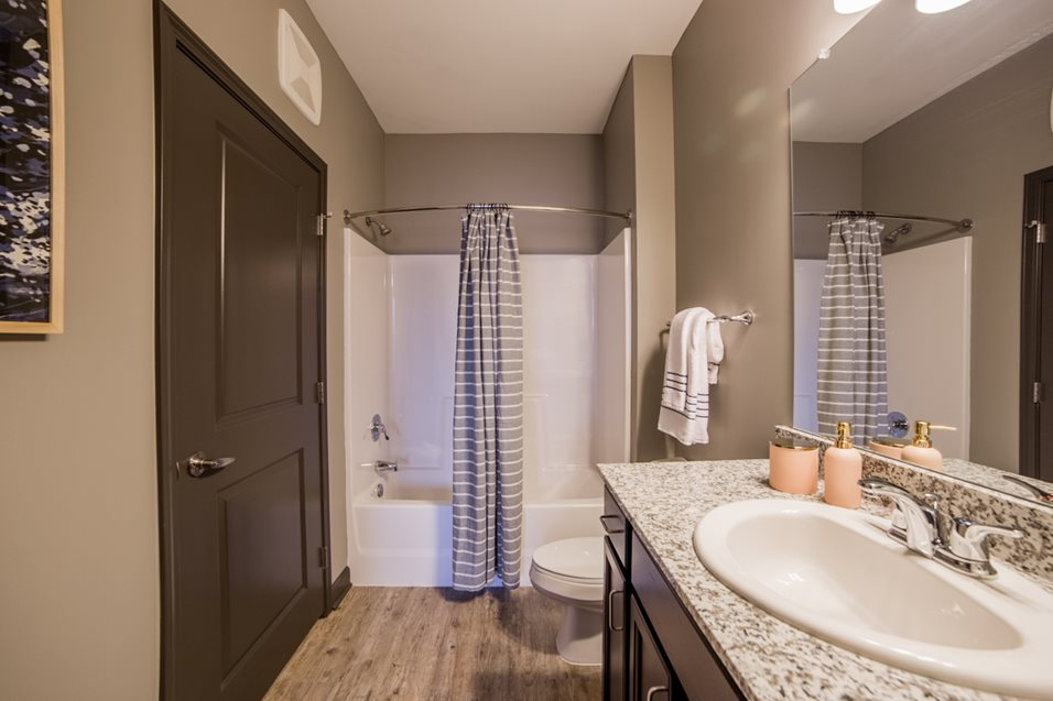 Kitchens and Vanities at The Mosaic Apartments in Cinncinnati