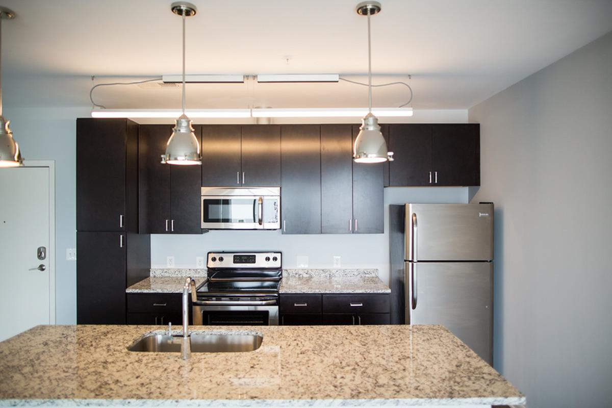 Kitchens and Bathrooms at The Artistry Apartments