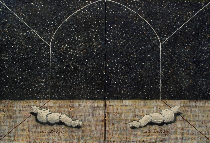 The Secret of Hermes (Diptych)