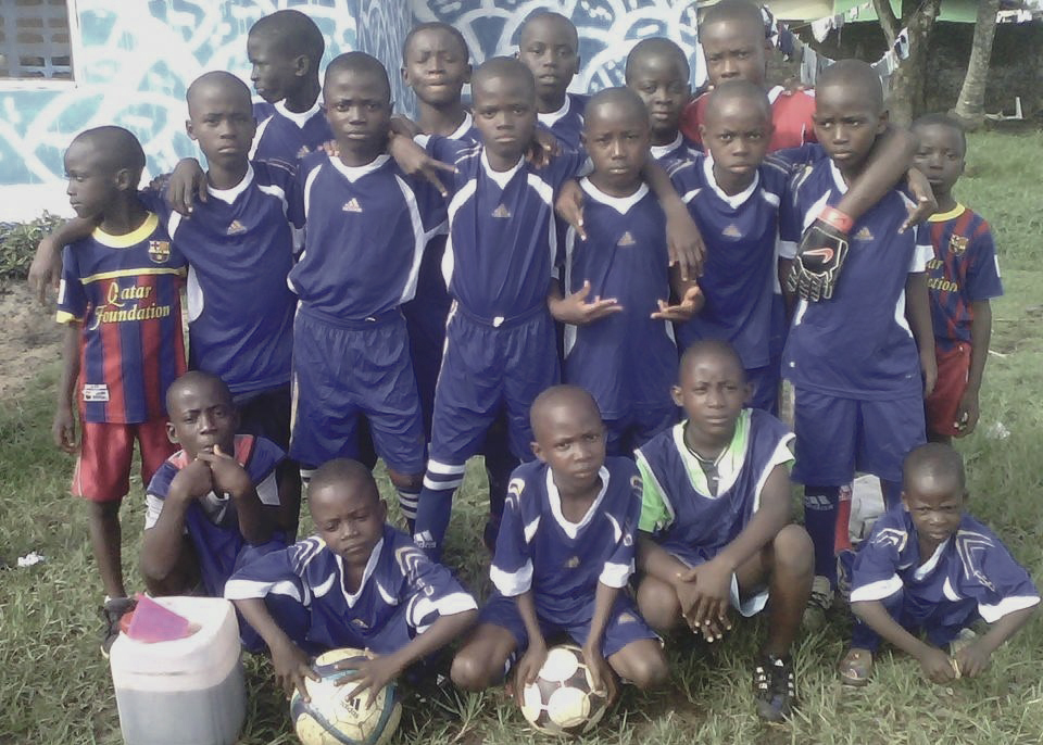 Soccer Team - The soccer team created with Arinze and his 25 friends. They formed this team to have fun, foster goodwill, leadership development and friendship. The team practiced and played its first game July 26, 2014.