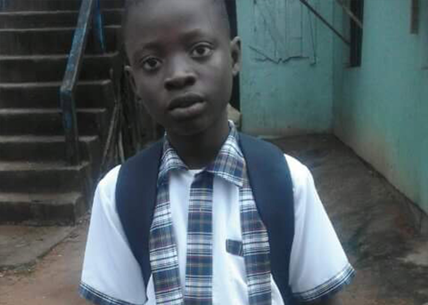 Eddie Boy - Arinze has been sending his own money to his friend Eddie Boy for the past 4 years. Eddie boy is 14 but only in the fourth grade because of his lack of prior education. Arinze is making a difference in his friend's life.