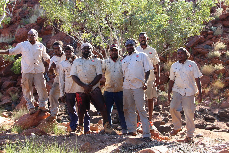 The Martu Ranger team
