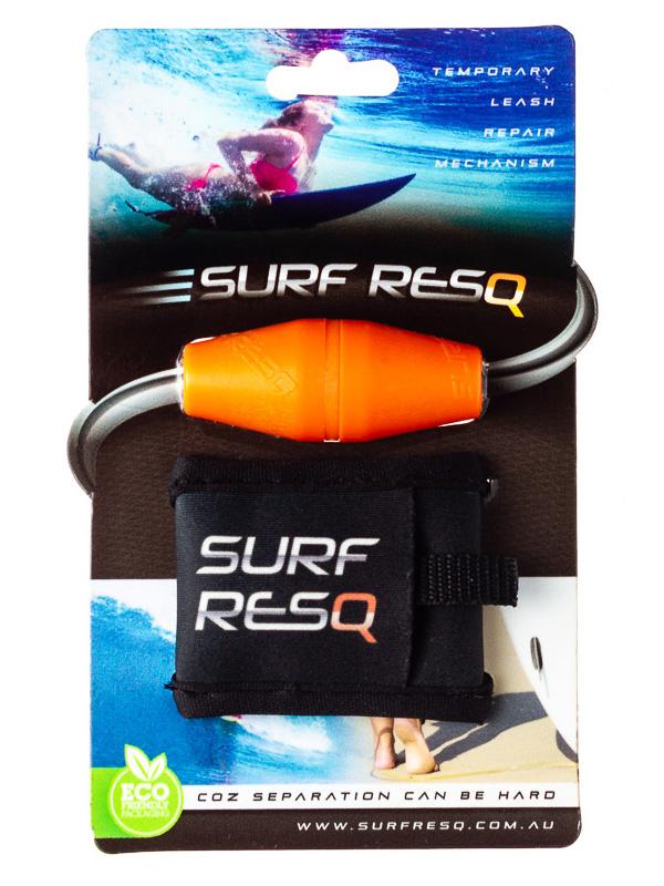 Surf ResQ Leash Repair with Pouch — Orange Edition