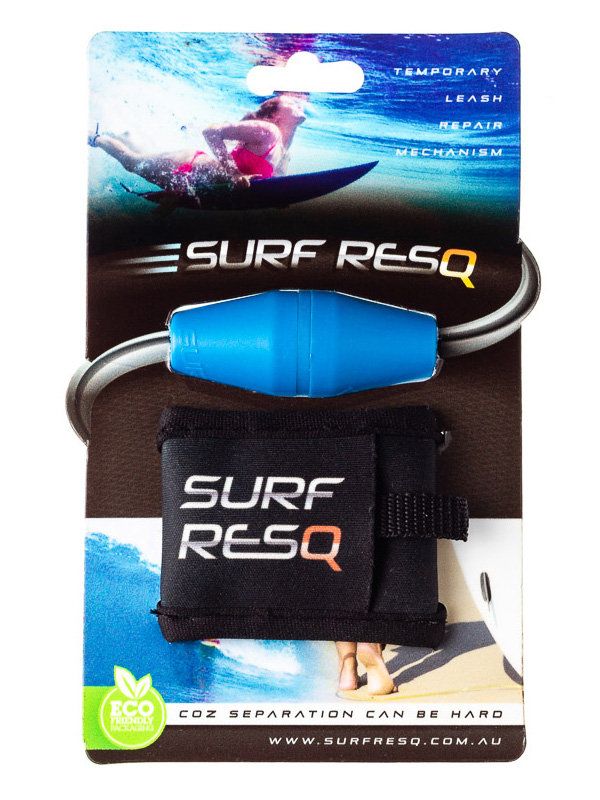 Surf ResQ Leash Repair with Pouch — Blue Edition