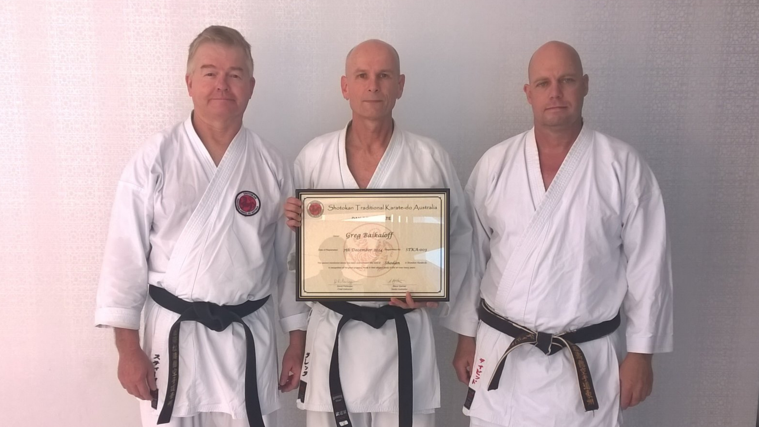 Qualified Instructors - Our instructors at STKA have earned a reputation for teaching to a very high standard of shotokan karate.