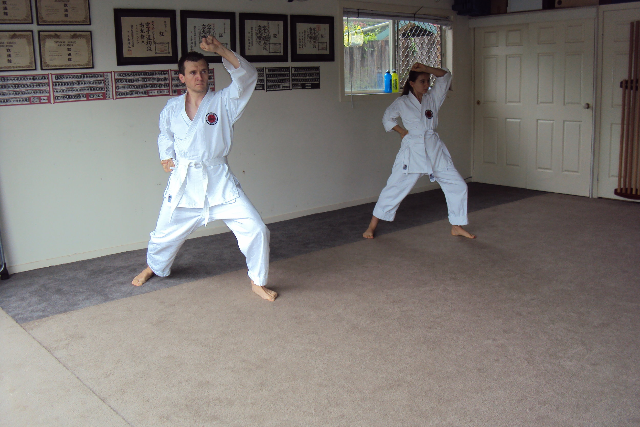 Basics & Kata - Students learn only the best basics and kata from experienced and professional instructors.