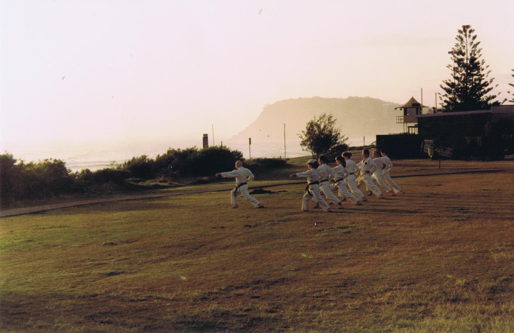 Burleigh (Outdoor) Dojo